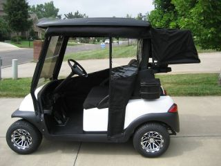 SUNBRELLA TRACK STYLE GOLF CART ENCLOSURE COVER CLUB CAR, EZGO, YAMAHA