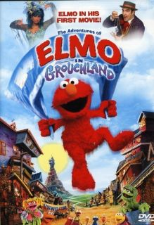 Adventures of Elmo in Grouchland DVD New 043396041684