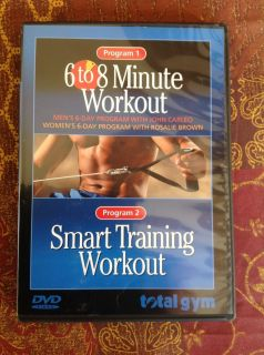 Total Gym   6 to 8 Minute Workout   Smart Training Workout (DVD)