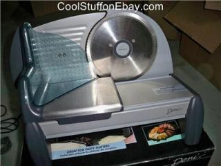 ELECTRIC FOOD SLICER / COLD CUT MACHINE MODEL 14302 (HOME USE