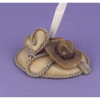 Cowboy Hat Rope Rose Roses Heart Wedding Party Envelope Seals