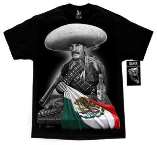 Mexican Flag Emilio Fernandez El Indio Guns T Shirt M 4XL DGA David