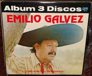 Emilio Galvez El Indio Grande de La Cancion Ranchera