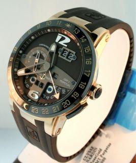 Nardin GMT Perpetual Calendar El Toro 18k Rose Gold LIMITED Mens watch
