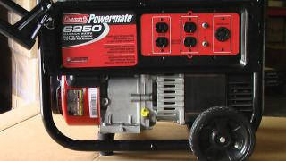 Electric Generator Coleman Powermate 6250
