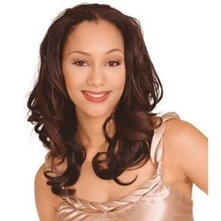 EMILY BY OUTRE QUICK WEAVE SYNTHETIC HALF WIG LONG WAVY STYLE