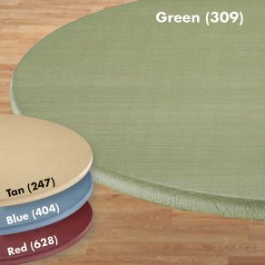Vinyl Fitted SM LG Round Oval Table Cover Cloth Elasticized