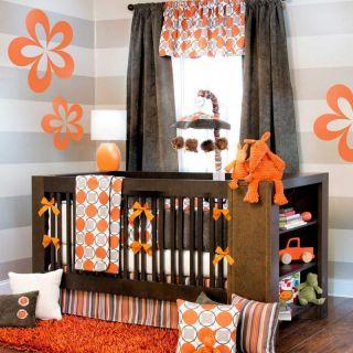 Echo 4 Piece Baby Crib Bedding Set with Bumper by Sweet Potato