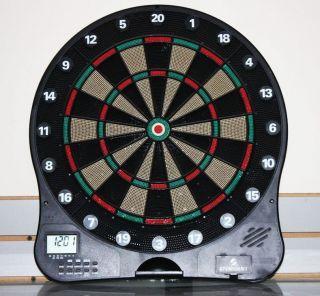 Sportcraft Electronic Dart Board Clock Dartboard