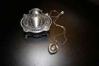 Sterling Vampire Diaries Elena Necklace Silver 925 NIB Vintage Version