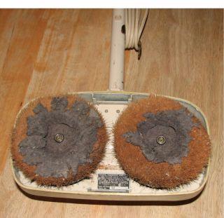 Electric Floor Polisher Vintage Kenmore Scrubber Buffer