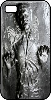Han Solo Carbonite Empire Strikes Back Black Hard Case Apple iPhone 4