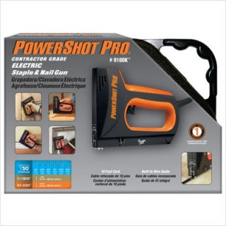PowerShot 9100 Contractor Grade Electric Staple Nail Gun
