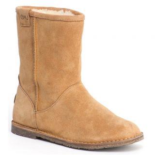 Emu Australia Womens Mid Calf Boots Chestnut Inverlock W10134 Womens