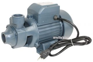 110V 13GPM Lift 26ft 1HP Electric Clear Water Pump Pool Pond
