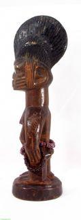 Yoruba Ibeji Twin Doll Female, Published, Museum Exhibit African