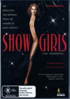 Showgirls Elizabeth Berkley Gina Gershan New SEALED DVD