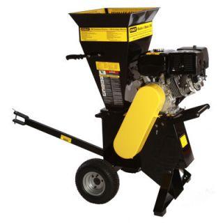 Gas Chipper Shredder Trailer Hitch ATV Lawn Tractor Garden Trees Yard