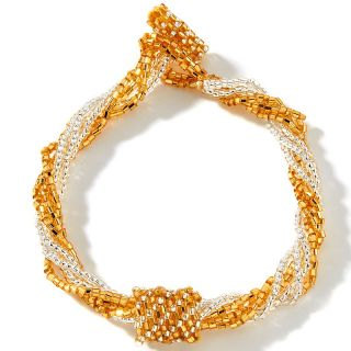 gems multi strand metallic potay bead bracelet rating 11 $ 9 95 s h