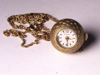 Ernest Borel Antique Pendant Ball Watch