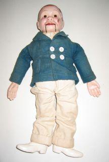 Charlie McCarthy Edgar Bergen Effanbee Ventriloquist Dummy Doll 1930S