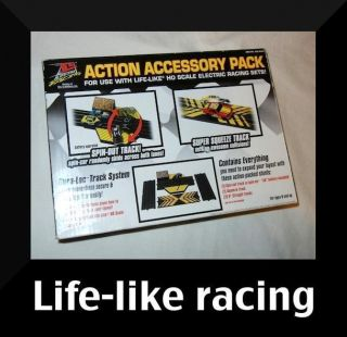 RACING Action Accessory Pack HO scale electric set Spin Out track car