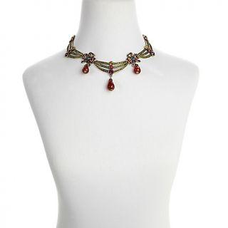 Heidi Daus American Icon Swag Crystal 15 1/2 Link Necklace