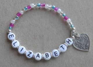 Best Friends Personalized Heart Charm Bracelet