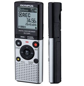 Olympus VN 702pc Digital Voice Recorder 2GB 823 HR Record Time New PC