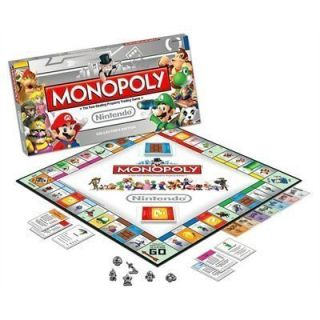 Super Mario Bros Collectors Monopoly Game New