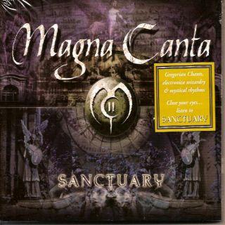 Magna Canta Sanctuary Enigma Techno Gothic Chant New CD