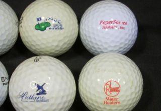12 Logo Golf Balls 7 Eleven Hirsch Creek Rheem Midlane Country Club