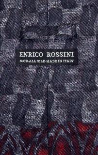 Enrico Rossini Silk Necktie Made in Italy Design Mens Neck Tie 3100 2