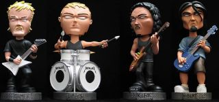 Metallica James Hetfield Bobble Head Figure SEG RARE