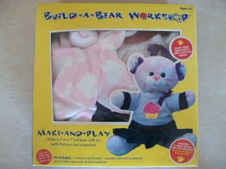 Build A Bear Workshop 7 Make And Play Sweetheart Bear Kit 63734 NEW IN