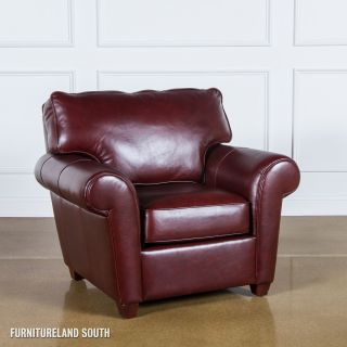 ELITE LEATHER FURNITURE 8WAY HAND TIED LEATHER MORGAN CLUB CHAIR MADE