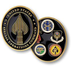 United States Special Operations Command Military Coin