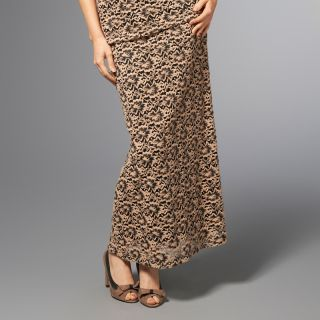 glamour badgley mischka brushed lace maxi skirt rating 11 $ 27 48 s