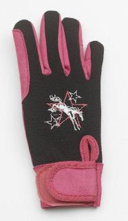Horse Western Girls Winter Riding Gloves 8 10