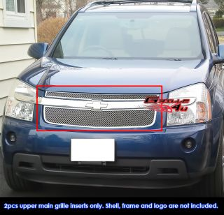 05 09 Chevy Equinox Stainless Steel Mesh Grille Insert