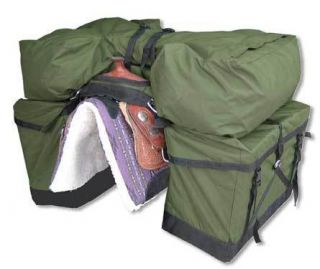 Complete Pannier Pack System horse equipment camping hunting fishing