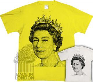Queen Elizabeth Diamond Jubilee 2012 London England T Shirt Top
