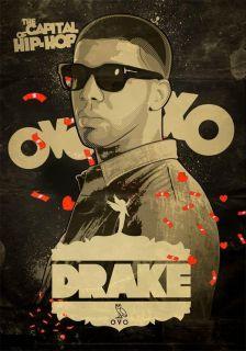Drake Hip Hop Rap R&B Videos DVD/CD Combo   OVOXO   Hottest Drake DVD