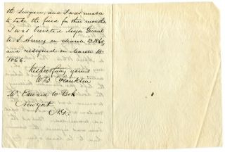 Union Gen William B Franklin on Wound at Sabine Cross Roads 1864 Civil