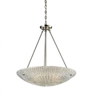 Lighting Hanging & Pendant Lights 25 Luminese Glass Pendant   Clear