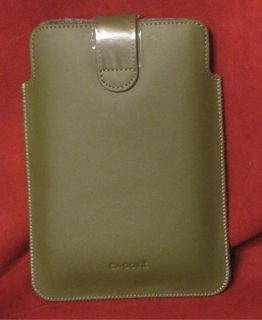 Leather eReader Case Kobo Sony Aluratek Libre Green EX Point Sleeve