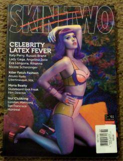 Skin Two Celebrity Latex Fever Angelina Jolie Lady Gaga