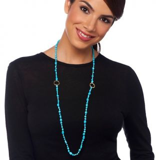 Gems Sleeping Beauty Turquoise Vermeil 36 Necklace