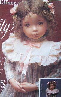 Doll Mold Emily Head by Dianna Effner for 19 Dolls