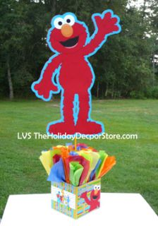 Street Elmo Birthday Party Centerpieces Decorations Supplies